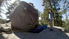 Rock Climbing Photo: The Killer Crane Boulder