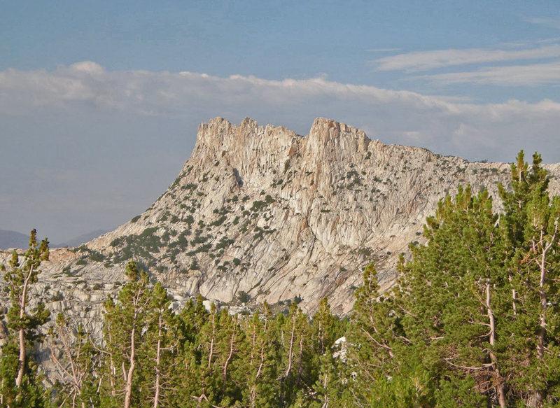 Unicorn Peak from the west