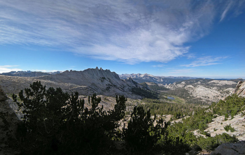 Matthes Crest from northwest