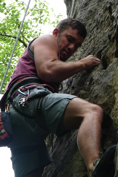 Rock Climbing Photo: juggy lower section
