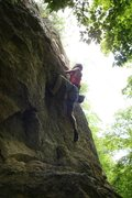 Rock Climbing Photo: the bulge