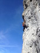 Rock Climbing Photo: Valerie N in Harakiri