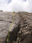 Rock Climbing Photo: Whiskey is another fun slab climb on the at Red Ga...