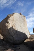 Rock Climbing Photo: 5.9 Arete, Bishop, CA