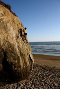 Rock Climbing Photo: Stinson Beach, CA