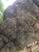 Rock Climbing Photo: The line of Choss, or na?