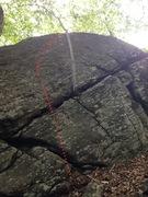 Rock Climbing Photo: Freak Gasoline Doppelgänger.