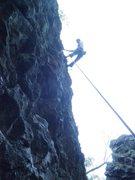 Rock Climbing Photo: Up Sidesaddle
