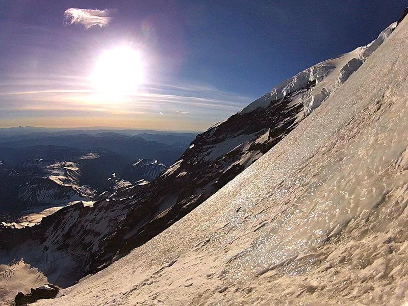 Rock Climbing Photo: gettim