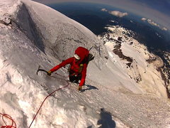 Rock Climbing Photo: surprise ice