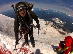 Rock Climbing Photo: Ted again.  Dang it!
