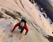 Rock Climbing Photo: running late