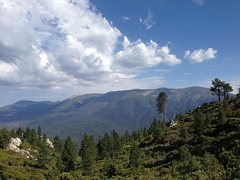 Rock Climbing Photo: The view from the top of Clark's Grade (1N54), Big...