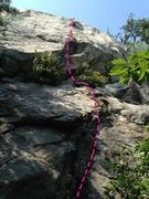 Rock Climbing Photo: Top of Smokehouse