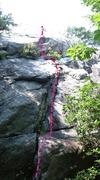 Rock Climbing Photo: Start of Smokehouse