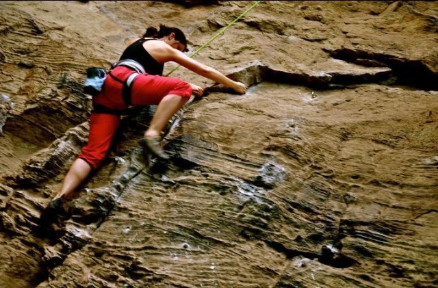 Rock Climbing Photo: Climbing at Red River Gorge