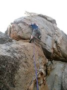 Rock Climbing Photo: Guys and Dolls (5.9), Holcomb Valley Pinnacles