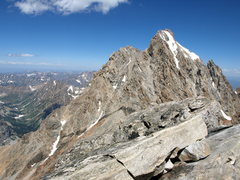 Rock Climbing Photo: Grand from Middle summit