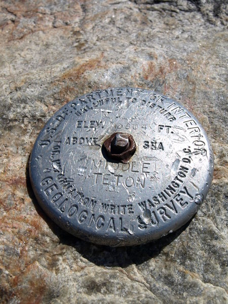 Middle Teton Summit pin