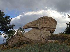 Rock Climbing Photo: Anteater Boulder, Big Bear South
