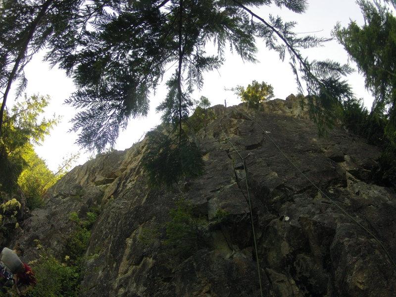 Rock Climbing Photo: A Summer Known as Fall(5.8)