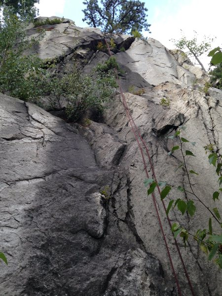 Rock Climbing Photo: Route 1