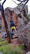 Rock Climbing Photo: Start beta of See Emily Play.