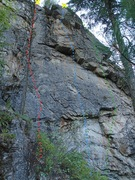 """Rock Climbing Photo: """"Out of Sight"""" and """"Out of Mind&quo..."""