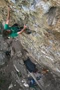 Rock Climbing Photo: Clip!