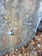 Rock Climbing Photo: Hanger 2' from ground.