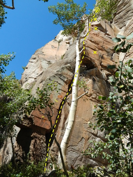 Rock Climbing Photo: Fun line!