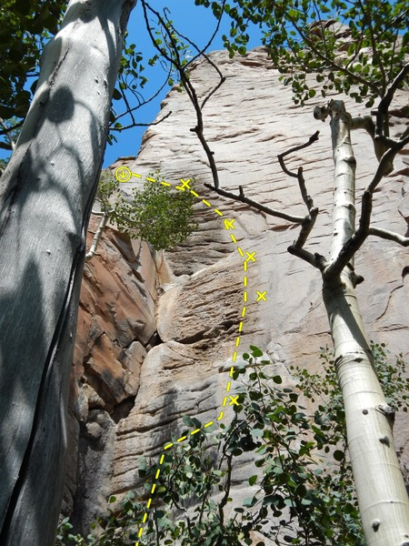 Rock Climbing Photo: You do not get many 9s this overhung!