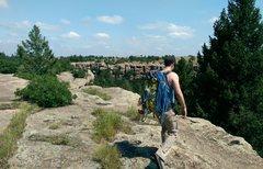 Rock Climbing Photo: Castlewood Canyon
