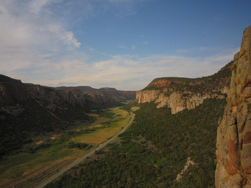 Rock Climbing Photo: Unaweep crags....