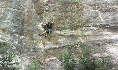 Rock Climbing Photo: making my way up i thingk its holly crow inbetween...