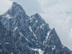 The left arm of the &quot;V&quot; in the photo is the Black Ice Couloir; the right is the Enclosure Ice Couloir. <br /> <br />Teton Ranger Blog, July 12, 2014 <br /><a href='http://tetonclimbingenclosure.blogspot.ca/p/enclosure-couloir-2013.html' target='_blank' rel='nofollow' >tetonclimbingenclosure.blogspo...</a>