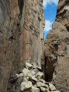 """Rock Climbing Photo: The """"portal"""" and Stargate Tower in the P..."""