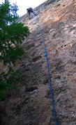Rock Climbing Photo: Purple and Yellow Blast, a sweet little easy route...
