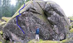Rock Climbing Photo: Dreamland - V2/3-ish