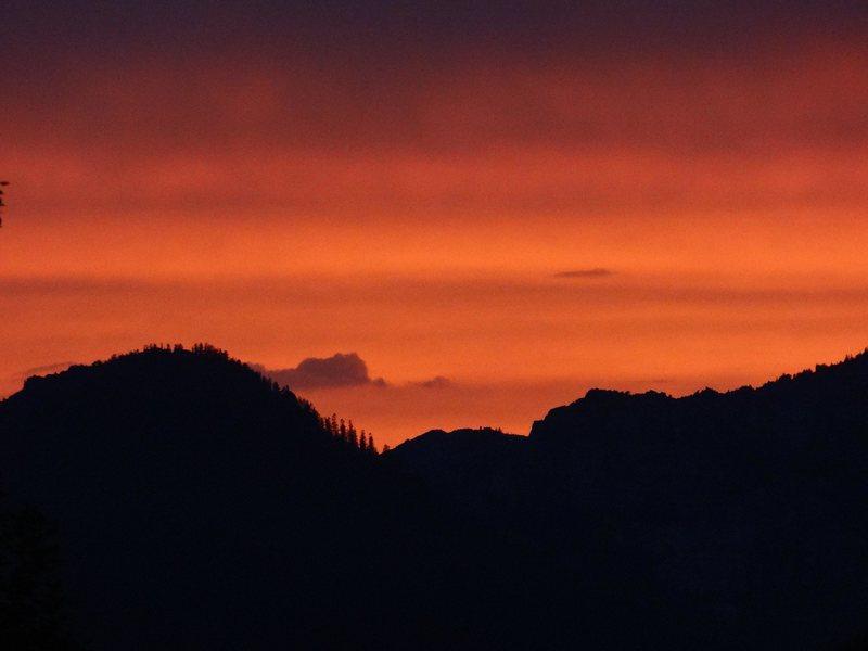 sunset on maggies