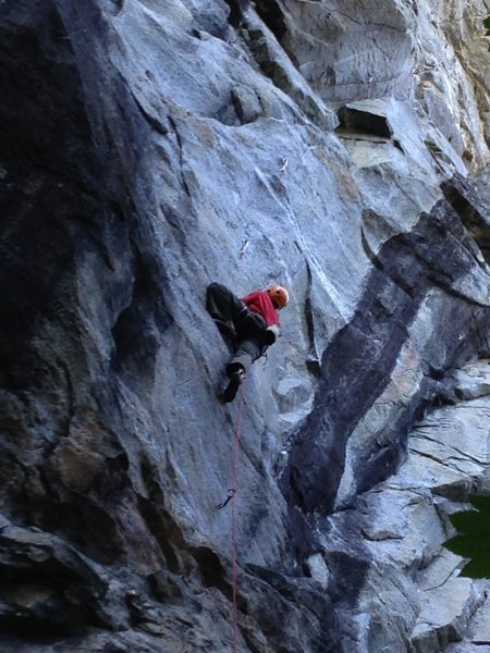 David Tower on his way to the (probable) 4th ascent
