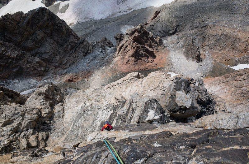Rock Climbing Photo: Lower Exum Ridge