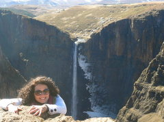 Rock Climbing Photo: Adventures in Lesotho (Africa)