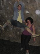 Rock Climbing Photo: Me and my brother at RR in PA