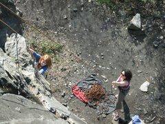 Rock Climbing Photo: Climbing at the Bird (Birdsboro, PA)