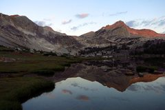 Rock Climbing Photo: SE aspect of North Peak reflected in Greenstone La...