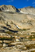 Rock Climbing Photo: Taking in the views of Mt. Conness from the Connes...