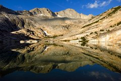 Rock Climbing Photo: Conness Lakes reflection