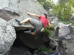 Rock Climbing Photo: Spit Out the Seeds. Fun!