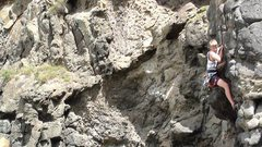 "Rock Climbing Photo: Jarrod Alexander on ""Bowels of Mercy"" 20"